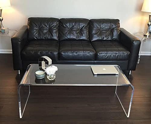 Shop For Acrylic Coffee Waterfall Table Lucite 50 Long X 20 X 17 High X 3 4 Thick New Online In 2020