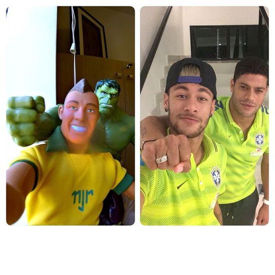 @hulkparaiba  #Neymar #Hulk