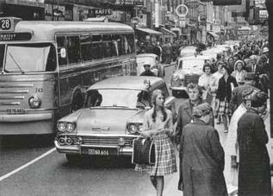 Public Life Survey - Stroget 1960