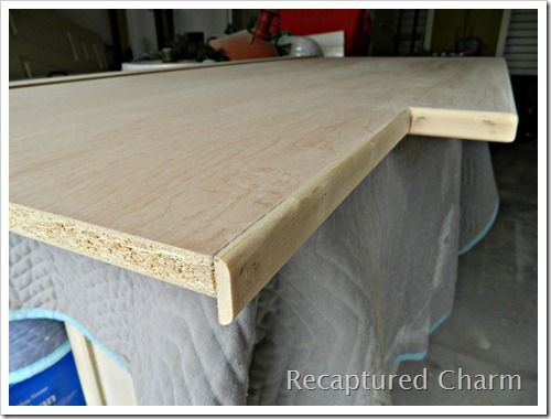 plywood countertop diy laundry room countertop diy countertop stained ...