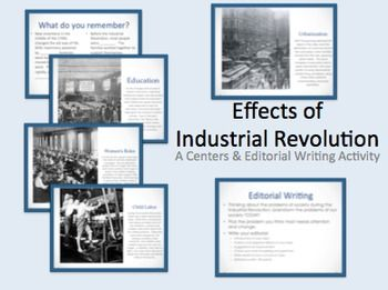 Effects of the Industrial Revolution Walking Tour Activity ...