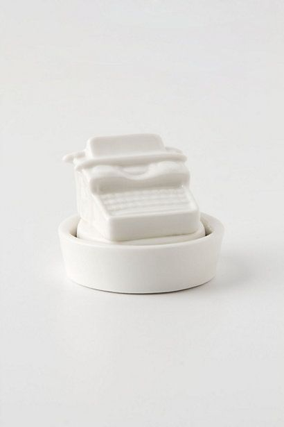 ++ Ceramic Typewriter Stamper
