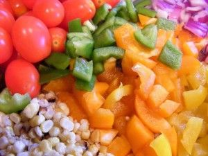 Sunday Salads: Southwest Chicken Salad by Once a Month Mom   OAMC from Once A Month Meals