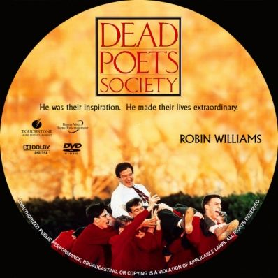 dead poets society dvd cover | Don't upload a downloaded cover to other sites! Thx!