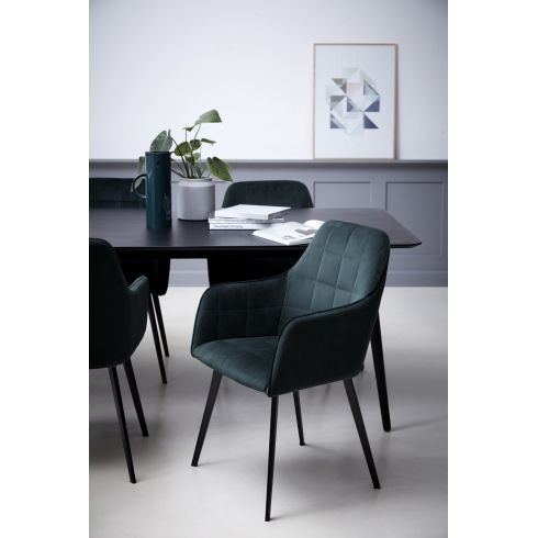 Fine Dan Form Embrace Dining Chair Emerald Green Velvet Caraccident5 Cool Chair Designs And Ideas Caraccident5Info
