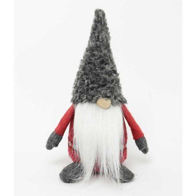 The Holiday Aisle Wooly Bully Viking Gnome Christmas Figurines Halloween Yard Decorations Holiday