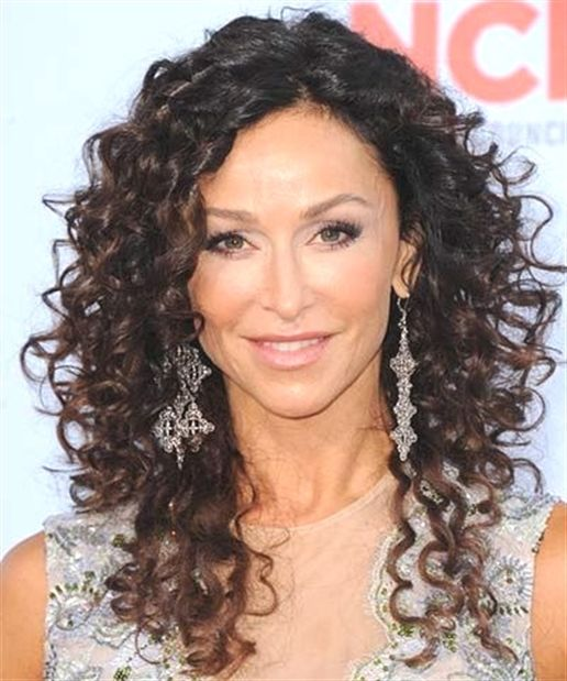 The Long Layered Look For Naturally Curly Hair Naturalcurlyhair Curly Hair Styles Naturally Long Curly Haircuts Hair Styles