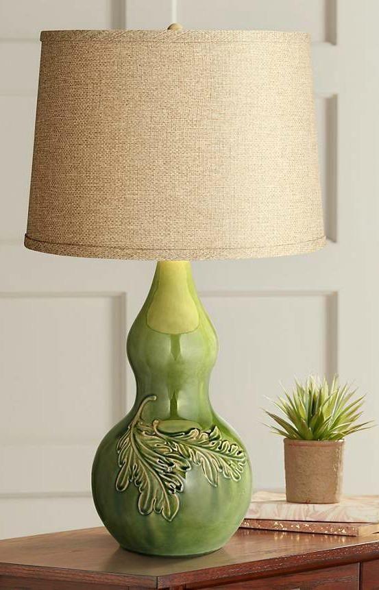 Kathy Ireland Flora And Fauna Green Table Lamp 8d365 Lamps Plus Green Table Lamp Table Lamp Lamp
