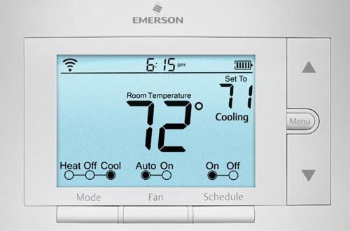 Sensi Smart Thermostat Wi Fi Up500w Works With Amazon Alexa