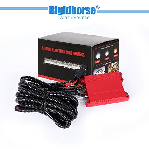 Light Bar Wiring Harness Rigidhorse Remote Control Wiring Harness Kit For Multi Color Led Light Bar Universal Fitme Led Light Bars Multi Color Led Bar Lighting