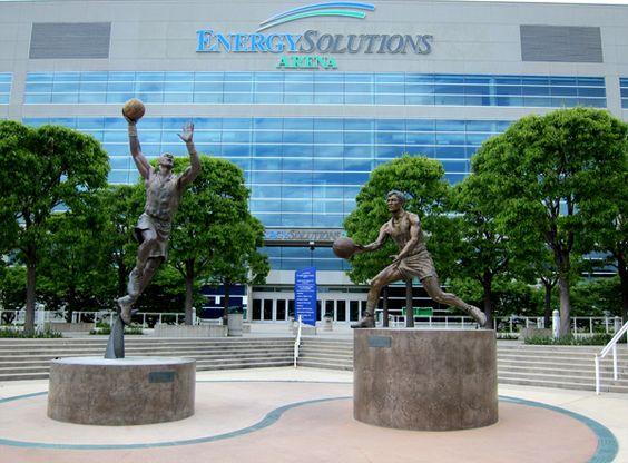 Energy Solutions Arena Salt Lake City, Utah