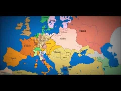 La historia de Europa en tres minutos y medio.
