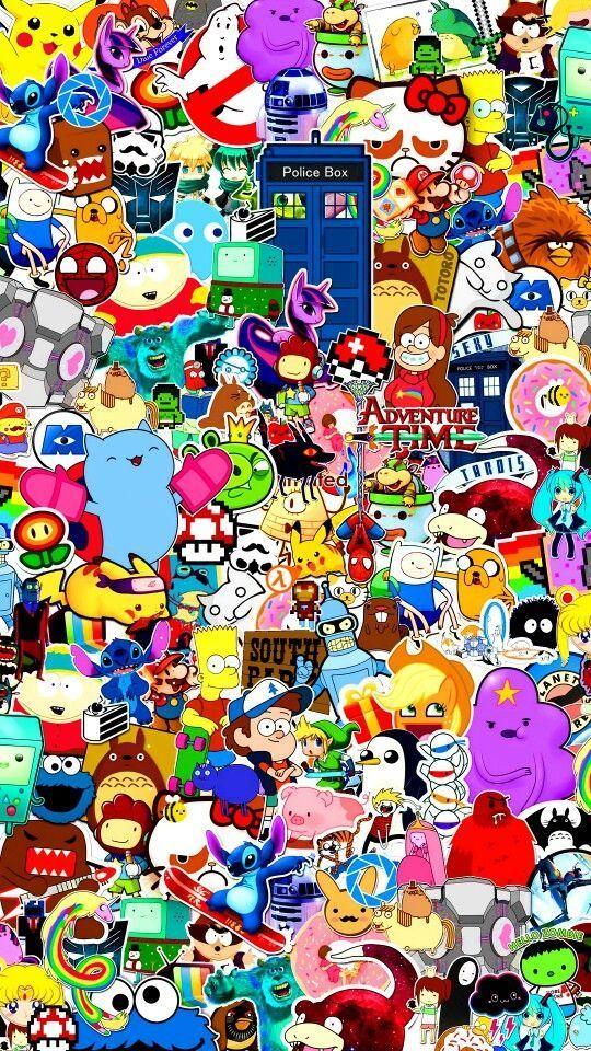 Pin On 4k Tapete Cartoon art wallpaper hd