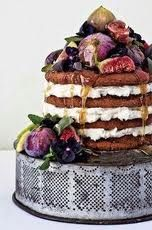 Fig & Ricotta Cake - my wedding cake! A huge hit