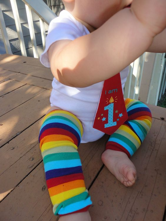 Choose A Color - First Birthday Tie Onesie Sets - Tie Onesie and Warmers - Cake Smash Outfit. $28.00, via Etsy.