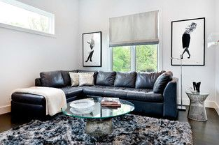 Modern Living Room photo by Linc Thelen Design