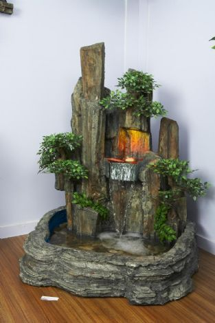 Pinterest the world s catalog of ideas for Small water features
