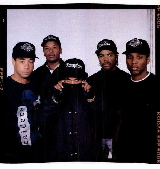 Fuck Tha Police! NWA, Easy E, DJ Yella, MC Ren, Ice Cube, And Dr. Dre!