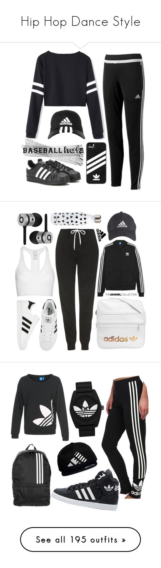 """Hip Hop Dance Style"" by yours-styling-best-friend ❤ liked on Polyvore featuring dance, WhatToWear, HipHop, hiphopdance, adidas, baseballcap, baseballhats, Topshop, adidas Originals and Beats by Dr. Dre"