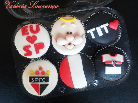 Cupcakes do São Paulo