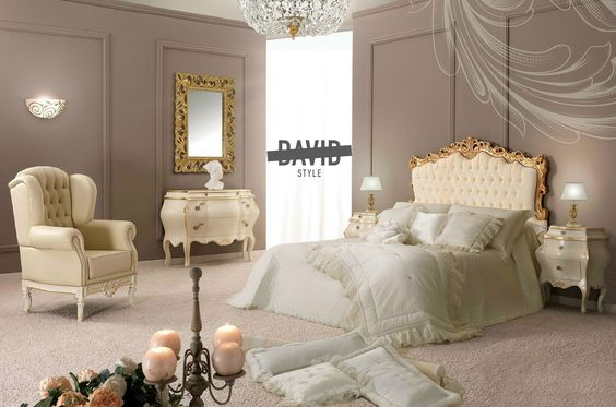 Baroque bedroom camera da letto barocco   #  baroquebedroom ...
