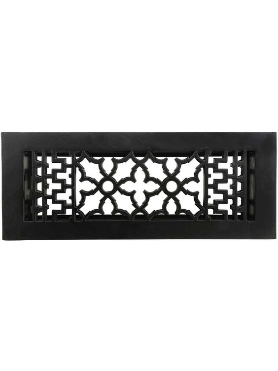Cast Iron Victorian Style Floor Register With Images Floor