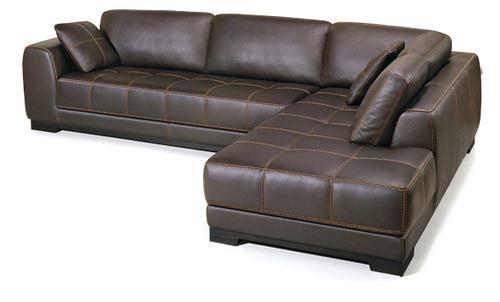 l shaped leather sofa genuine leather