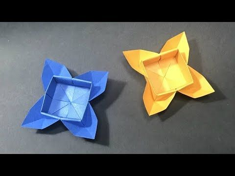 DIY Magic Rose Cube   Paper Craft Ideas   Origami Rose - YouTube   360x480