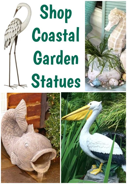 Coastal Garden Statues With Images