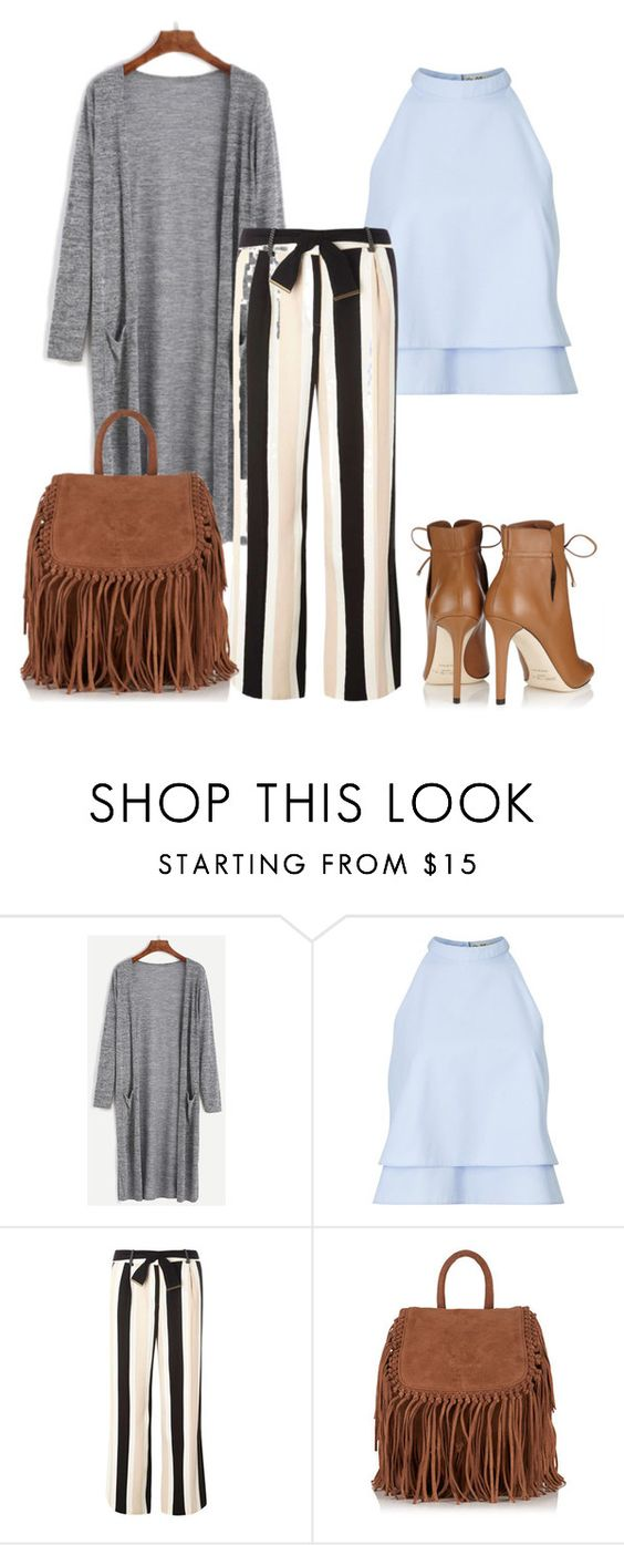 """""""Untitled #330"""" by arijana-cehic ❤ liked on Polyvore featuring Miss Selfridge, Dorothy Perkins, Superdry and Jimmy Choo"""