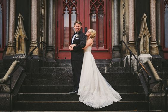 Casey + Kevin | Married   #WeddingDay #BrideandGroom #Portraits #WeddingPortraits #CIPhotographer