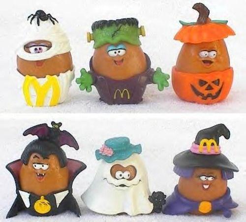 McDonald's Halloween McNugget Buddies @angela Stanley OMG I know we had these!