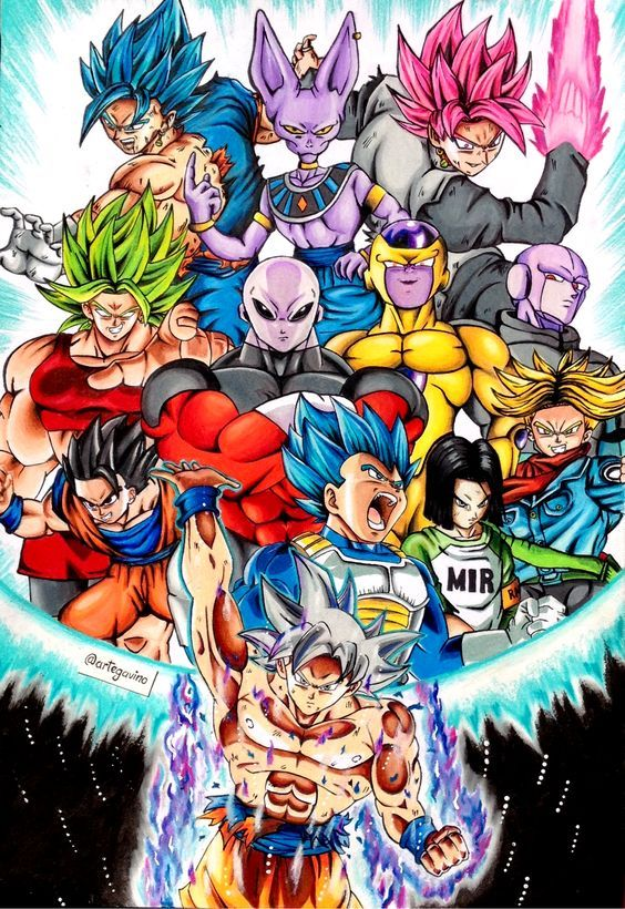 Pin By Giovanni On Dragonball Universe In 2020 With Images
