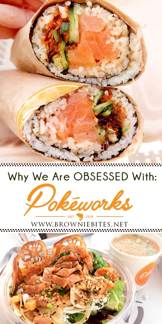 I M Obsessed With Pokeworks Knoxville Tn Brownie Bites Blog Hawaiian Dishes Brownie Bites Eat