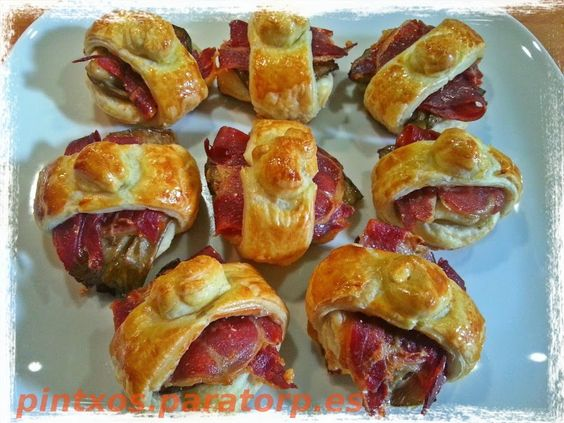 Tapas recetas and canap s on pinterest for Canapes faciles y ricos