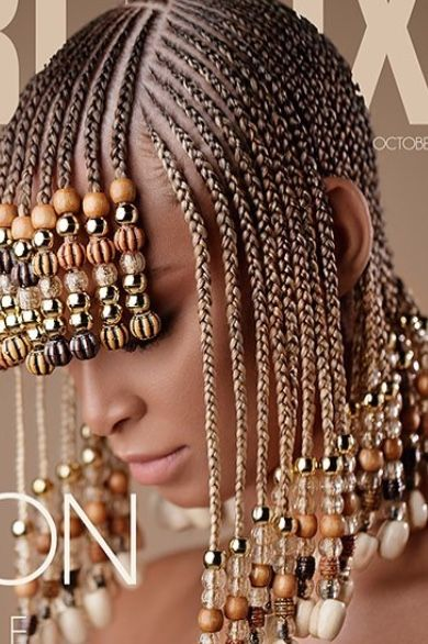Pin By Jessica Rice On Braids And Beads Braided Hairstyles Brown Blonde Hair Box Braids Hairstyles