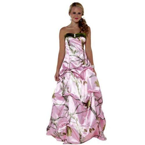 Realtree Camo Pickup Ballgown Camo Wedding Dresses Camo Prom