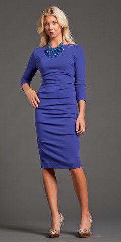 Gathered Dress by Nicole Miller $135