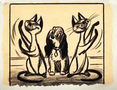 Lady and the tramp storyboards