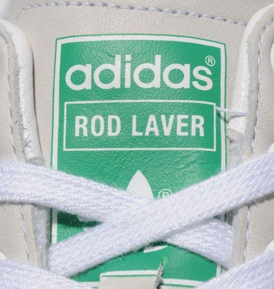 Adidas originals rod laver vintage rad rod laver lover pinterest