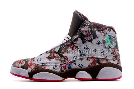 http://www.jordanse.com/new-released-girls-air-jd-13-gs-floral-white-brown-red-discount-sale-for-spring.html NEW RELEASED GIRLS AIR JD 13 GS FLORAL WHITE BROWN RED #DISCOUNT #SALE FOR SPRINGOnly$79.00  Free Shipping!