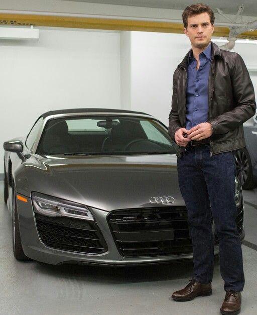 Photo of Jamie Dornan  Audi - car