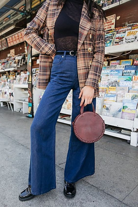Super High Rise Wide Leg Jeans - Street Style Outfits