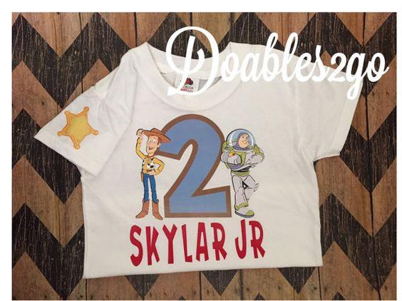 Toy Story Birthday Shirt by Doables2go on Etsy