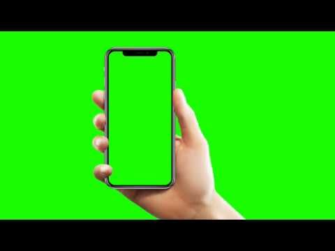 Mobile In Hand Green Screen Effect Video Youtube Greenscreen Chroma Key First Youtube Video Ideas