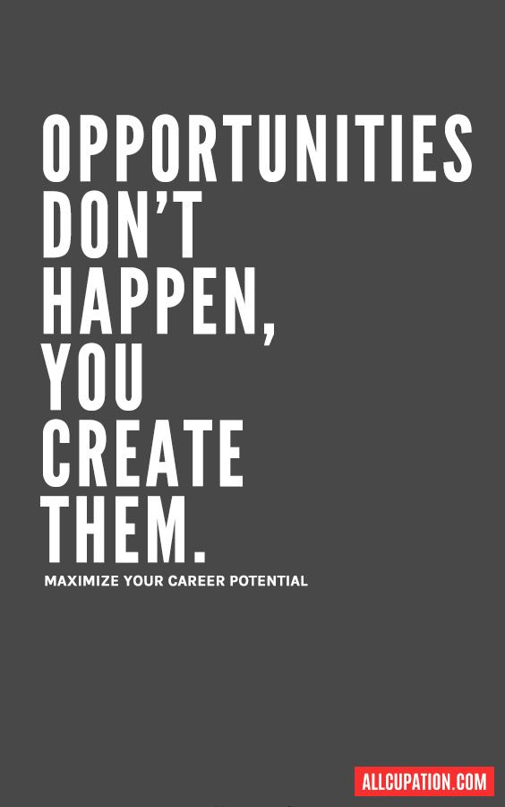 Business Quote Opportunities Gainz Business Quote Businessquote Job Quotes Career Quotes Positive Quotes For Work