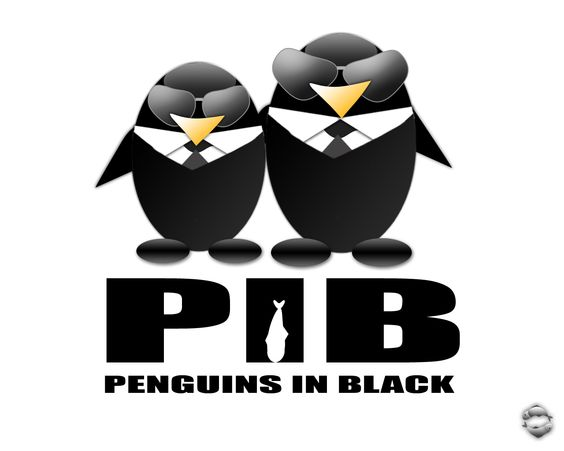 Penguins in Black... Too much or nah?