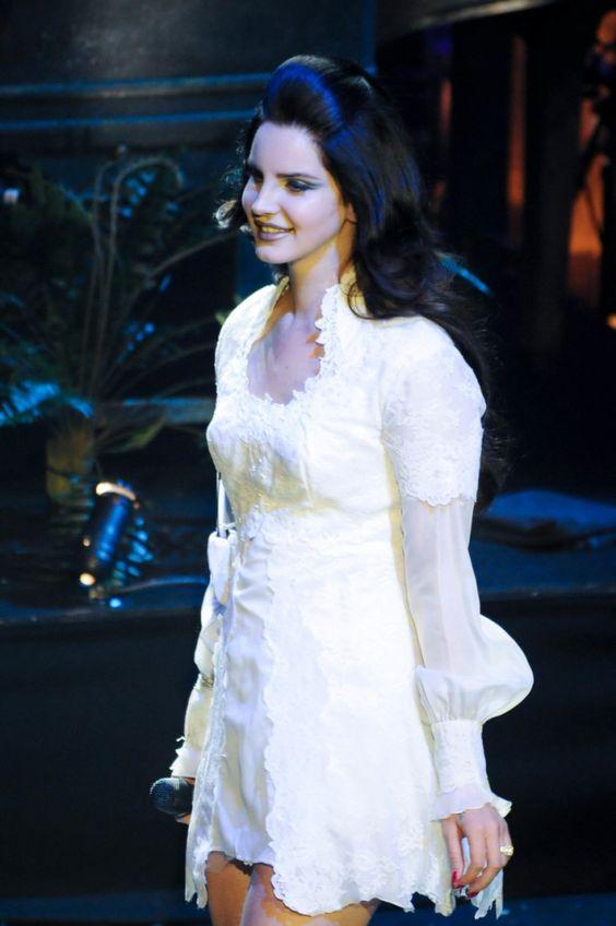 Lana Del Rey em concerto no L'Olympia em Paris - 27/04/13