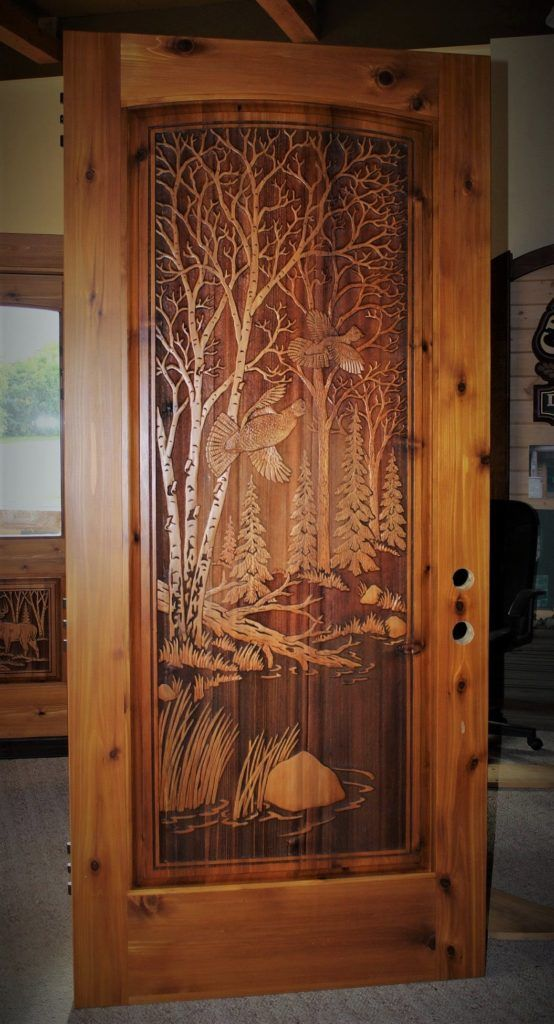 Carved Wood Front Doors Great River Door Co Wood Entry Doors Wooden Door Design Carved Doors