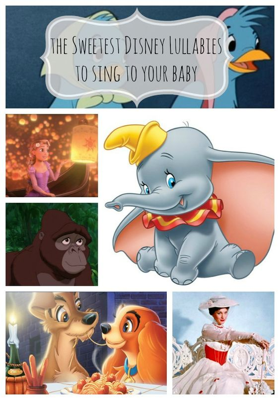 The Sweetest Disney Lullabies to Sing to Your Baby